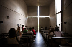 Kirche des Lichtes lizenzfreies stockbild