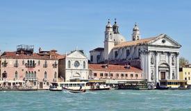 Kirche des Pieta in Venedig Stockbilder