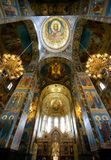 Kirche des Retters auf verschüttetem Blut, Innen Lizenzfreies Stockbild
