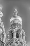 Kirche des Retters auf verschüttetem Blut, St Petersburg, Russland Stockfotos