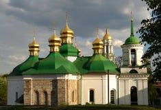 Kirche des Retters bei Berestovo Stockbilder
