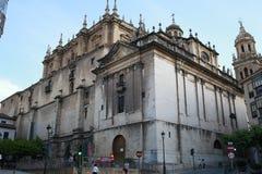 Kirche des Sagrario Des Jaen in Andalusien, südlich von Spanien Stockfotografie