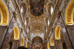 Kirche des Saint Louis, Rom stockfotografie