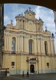 Kirche des St Johns in Vilnius, Litauen Stockbilder