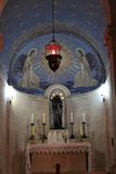 Kirche des Transfiguration-Freskos Stockbild