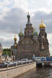 Kirche des verschütteten Bluts, St Petersburg Tom Wurl Lizenzfreie Stockfotografie
