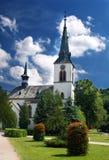 Kirche in Dolny Kubin Stockbilder