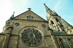 Kirche Dresden-Martin Luther Stockfotos