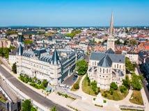 Kirche Eglise Saint Martin, Pau stockbilder