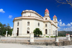 Kirche EL-Cobre, Santiago de Cuba Stockfotografie