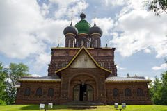 Kirche-Enthauptung des Johannes-Baptisten stockfotos