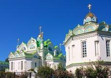 Kirche in Feodosia, Krim, Ukraine Stockfotografie