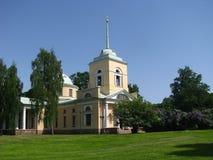 Kirche in Finnland Stockfoto
