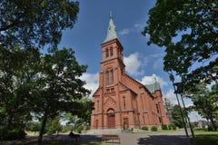 Kirche Finnlands Sipoo Stockfoto