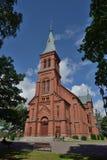 Kirche Finnlands Sipoo lizenzfreie stockfotografie