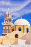 Kirche in Fira, Santorini Stockfotografie
