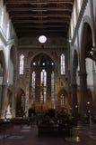 Kirche in Florenz stockbilder