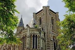 Kirche in Frankreich Stockfotos
