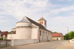 Kirche in Frankreich Stockfotografie