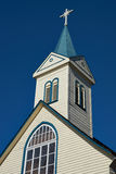 Kirche in Frutillar Stockbilder