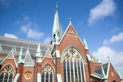 Kirche in Göteborg Stockbild