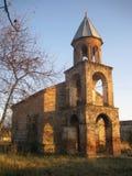Kirche in Georgia Stockbild
