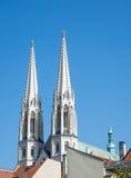 Kirche in Goerlitz Stockbild