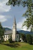Kirche in Gosau, Österreich Stockbilder