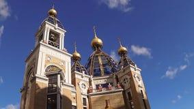 Kirche, Gott, Kiew, neu, orthodox, Ukraine, stock footage
