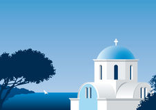 Kirche in Griechenland Lizenzfreie Stockbilder