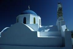 Kirche in Griechenland Stockfotos