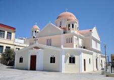 Kirche in Griechenland Stockbild