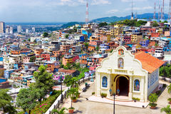 Kirche in Guayaquil lizenzfreie stockfotografie