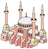 Kirche - Hagia Sophia Stockbild