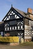Kirche-Haus - Chester - England Stockbilder