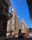 Kirche in Havana Cuba Stockfotos