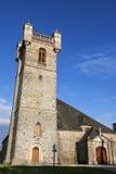 Kirche in Heilig-Pierre-Eglise Stockbilder