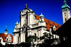 Kirche Heilige Geist in München lizenzfreie stockfotografie