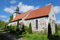 Kirche Heiligenwalde w Uschakowo Obrazy Royalty Free