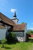 Kirche Heiligenwalde w Uschakowo Obraz Royalty Free