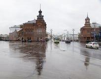 Kirche herein im vladimir, Russische Föderation stockfotos