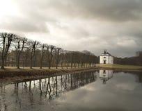 Kirche hoersholm Stockfotografie