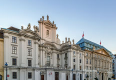 Kirche am Hof Church, Vienna, Austria Stock Image