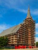 Kirche im Bau Lizenzfreie Stockbilder