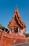 Kirche im Boot Tempel am Baan Na-Muang Lizenzfreie Stockfotos