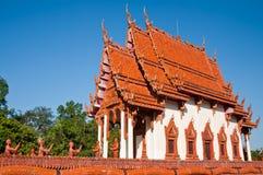 Kirche im Boot Tempel am Baan Na-Muang Lizenzfreie Stockbilder