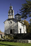 Kirche im cetinje, Montenegro Lizenzfreie Stockfotos