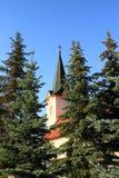 Kirche im Dorf Smizany in Slowakei Lizenzfreie Stockfotos