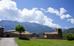Kirche im Dorf von Cava Lizenzfreie Stockbilder