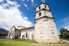 Kirche im Oslob, Philippinen Stockfotografie